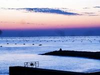 明石の夕景