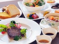 ステーキとお野菜を・・・・