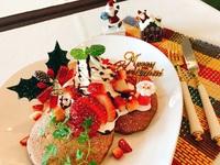 パンケーキ「クリスマスバージョン」