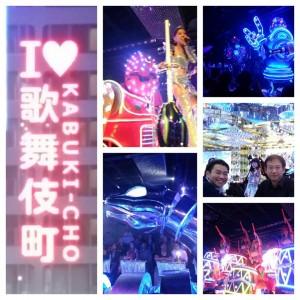 東京で話題人気の「ロボットレストラン」に行ってくれました(^o^)