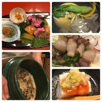 ☆日本料理 しげ松様☆素晴らしく繊細で美味しく華麗なお料理