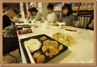 昼食会!!