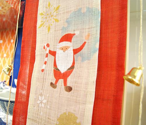 クリスマスも新年も、和の設え