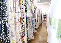 春の模様替えにはカーテンなどのファブリック類がおすすめ♪