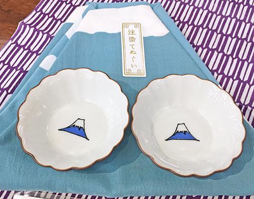 富士山モチーフや初夏らしい柄のてぬぐい