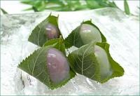 夏の和菓子(1)「くず桜」