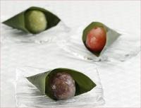 夏の和菓子(2)「笹露(ささつゆ)」
