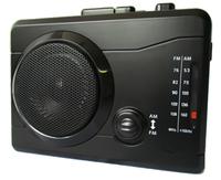 [新商品] AM/FMラジオカセットレコーダー 楽々ラジカセPC