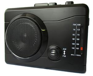 AM/FMラジオカセットレコーダー 楽々ラジカセPC KR-01