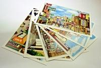 [絶賛販売中] 昭和のみなと元町風景 絵はがき6枚セット