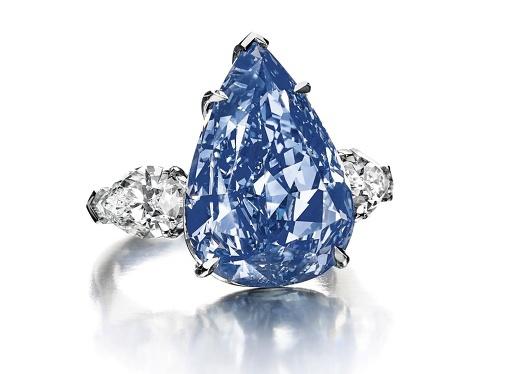 世界最大のブルーダイヤ