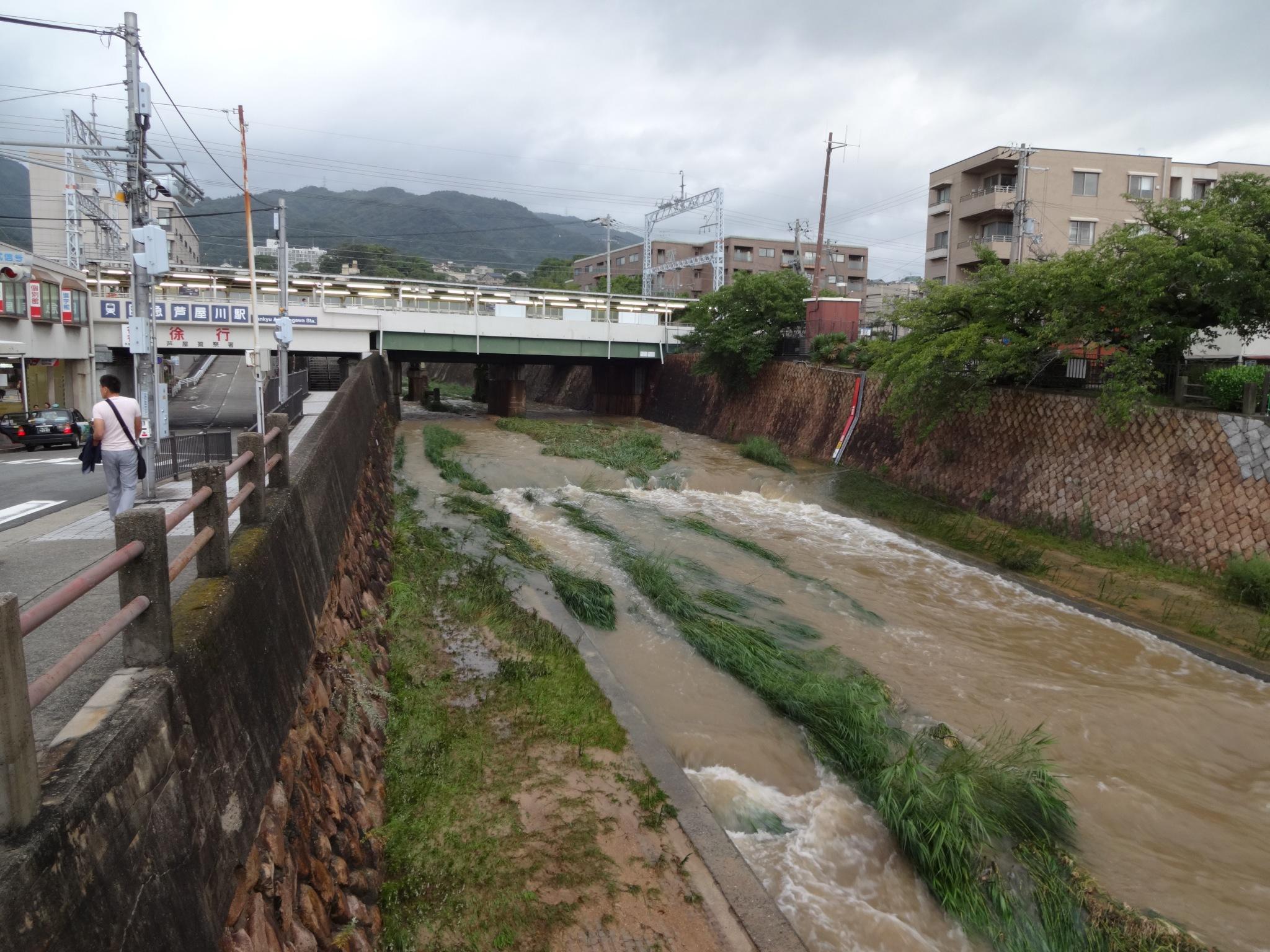 芦屋川(阪急芦屋川駅)20140810