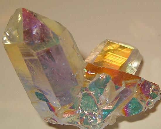 オーロラ水晶 レインボー水晶