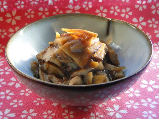 ジャンボ椎茸と生姜の佃煮♪