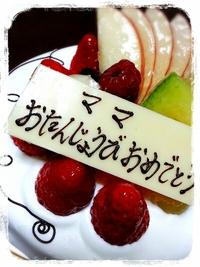 ◆◇誕生日を迎えました◇◆