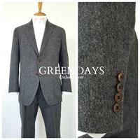 グレイツイードのセットアップスーツ(オーダージャケット&パンツ)