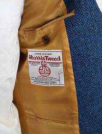 Harris Tweedハリスツイードで仕立てたオーダージャケット