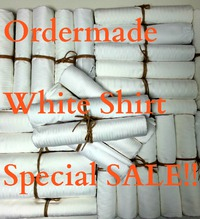 ホワイトシャツ(白シャツ)特別SALE!!★2枚で税込15000円!!(ほぼ半額)★先着10人限り!!★