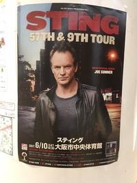 スティング大阪ライブに行って来ました!