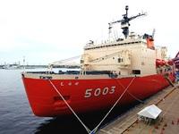 南極観測船「しらせ」見学会