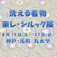 「洗える着物 東レ・シルック® 」の会です!!