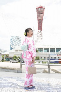 大人カワイイ♡浴衣姿で撮影会!