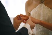 結婚が決まる二人