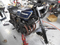 Z750FX 車検&整備