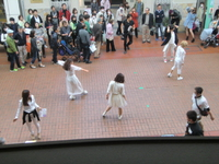ゲリラダンスライブ in モト3