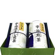宇治銘茶詰合せ100g×2缶 (1名様)