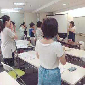 先日、谷口享子さんが講師をしてくださった 「プロの司会者・・・