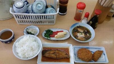 神戸西代「一富士」  今日のランチ  好きなお店    就・・・