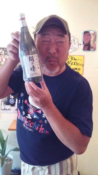 島根の地酒 頂きましたぁ~\(^o^)/ 絹の峰 純米大吟醸\・・・