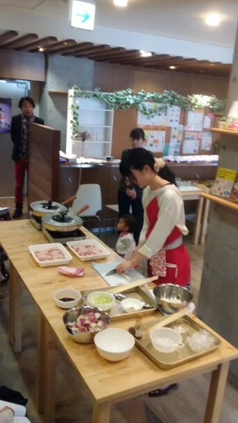 食育セミナー 今日は朝から新大阪で 友達の会社が・・・