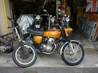 1971 HONDA CB750K1 整備報告 オーナー 大阪市帝塚山 H様