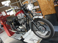 1960 TRIUMPH TR6 納車整備記録