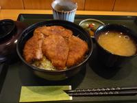 長野県伊那市 ソースカツ丼 青い塔