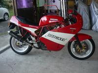 1989 DUCATI 900SS プチ修理しました。