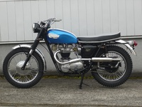 TRIUMPH TROPHY SPECIAL 1966 完成です。