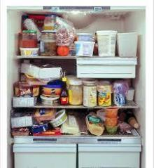 冷蔵庫の中身と貯蓄の関係