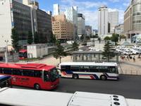 観光バスで、富良野に