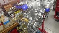 AS800E エンジンオーバホール