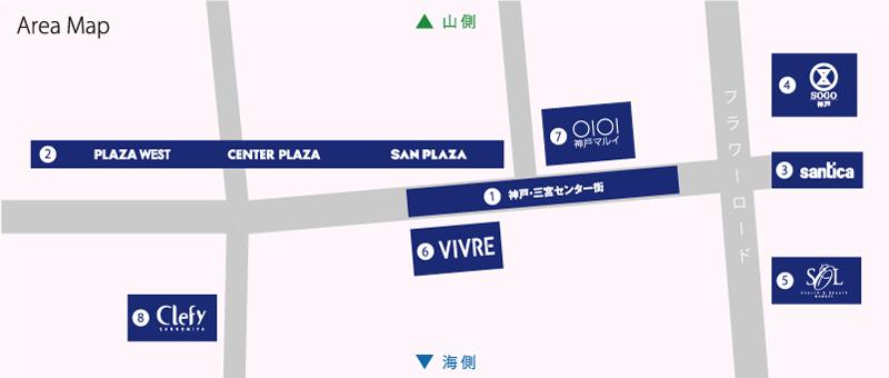 周辺商業施設MAP