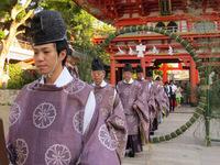 7月15日(土) 生田神社 夏越大祓式 道饗祭 千燈祭