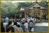6月30日(金) 夏越大祓式・茅輪神事