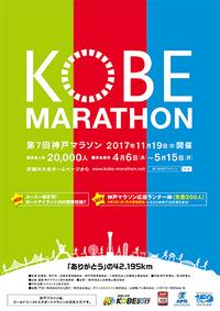 11月19日(日) 第7回神戸マラソン