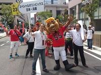 第46回神戸まつりパレードに汗かきえびすが出演!