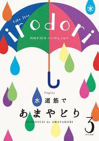水道筋のフリーペーパー「irodori」3号できました!