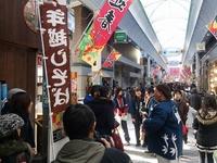 水道筋の昭和40年台の混雑っぷりを体感する商店主リレーツアー2016