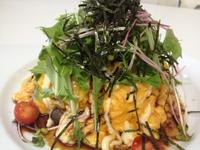 焼き鳥と香味野菜の和風オムライス 2014/08/08 11:15:22